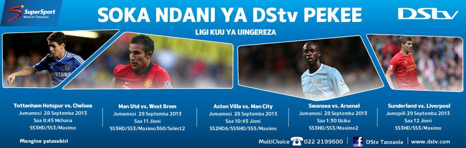 SuperSport- Key Live Events (EPL 28-29 Sept 2013)- Blog Banner