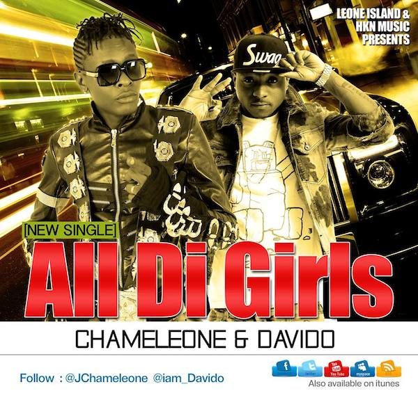 Chameleone and Davido All Di Girls