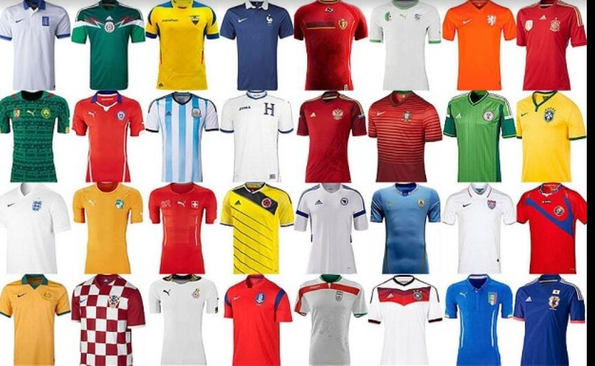 WorldCup2014Kits