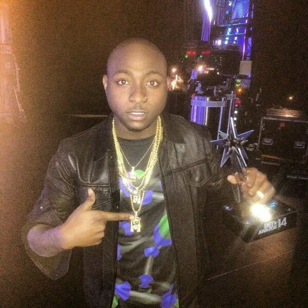 Davido wins 2014 BET Awards International Act: Africa category