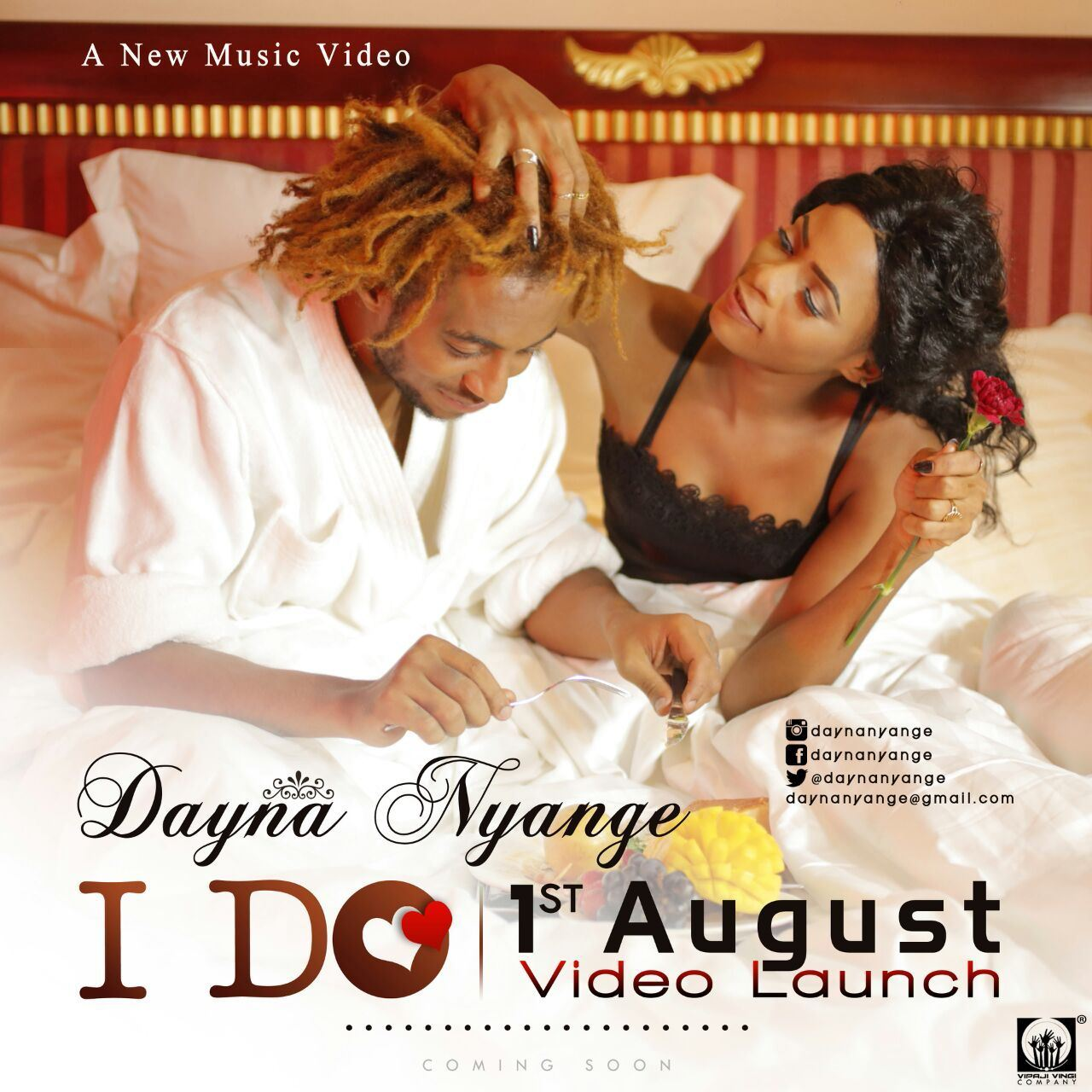 Dayna Nyange, I Do video featuring Nando from Big Brother Africa