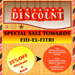 Towards Eid-El-Fitri: Special Sale/Discount At Amaya Thrift Store