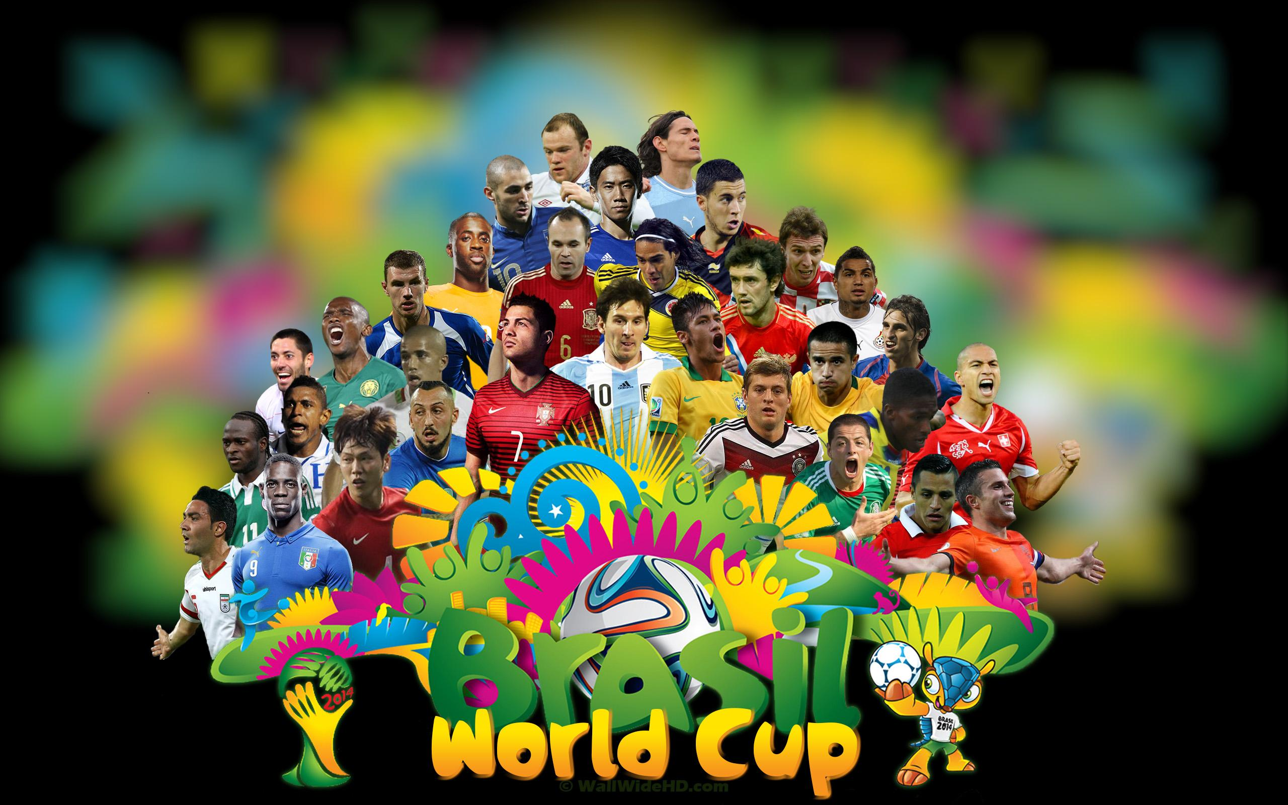 2014 FIFA World Cup Brazil Football Stars