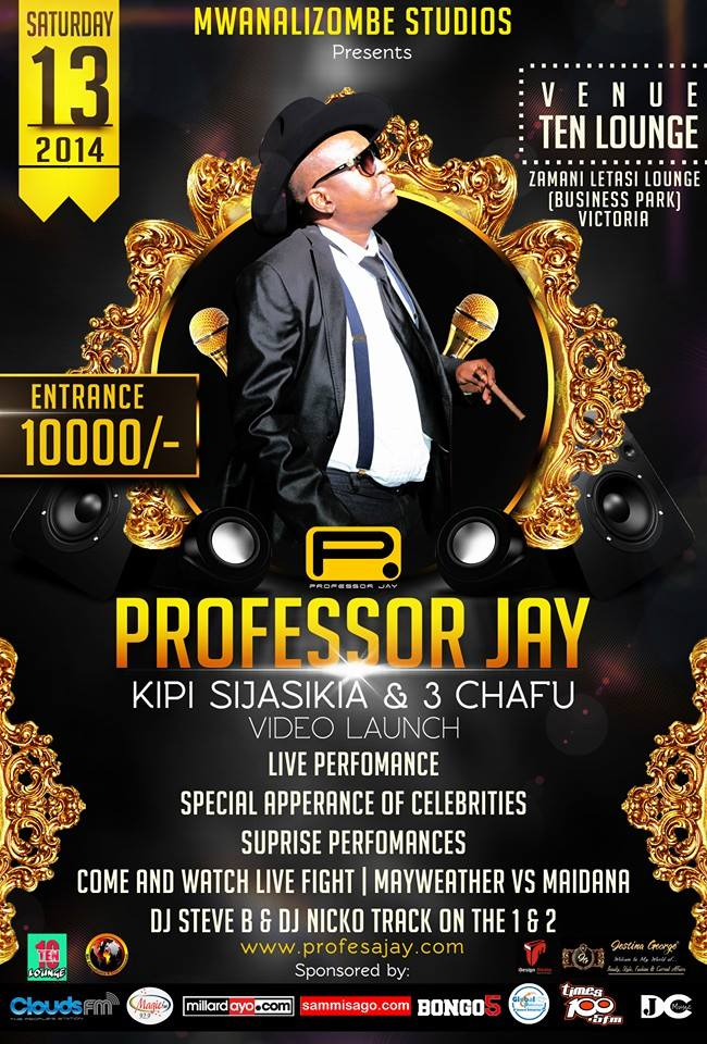 Professor Jay Launch Kipi Sijasikia And Tatu Chafu videos