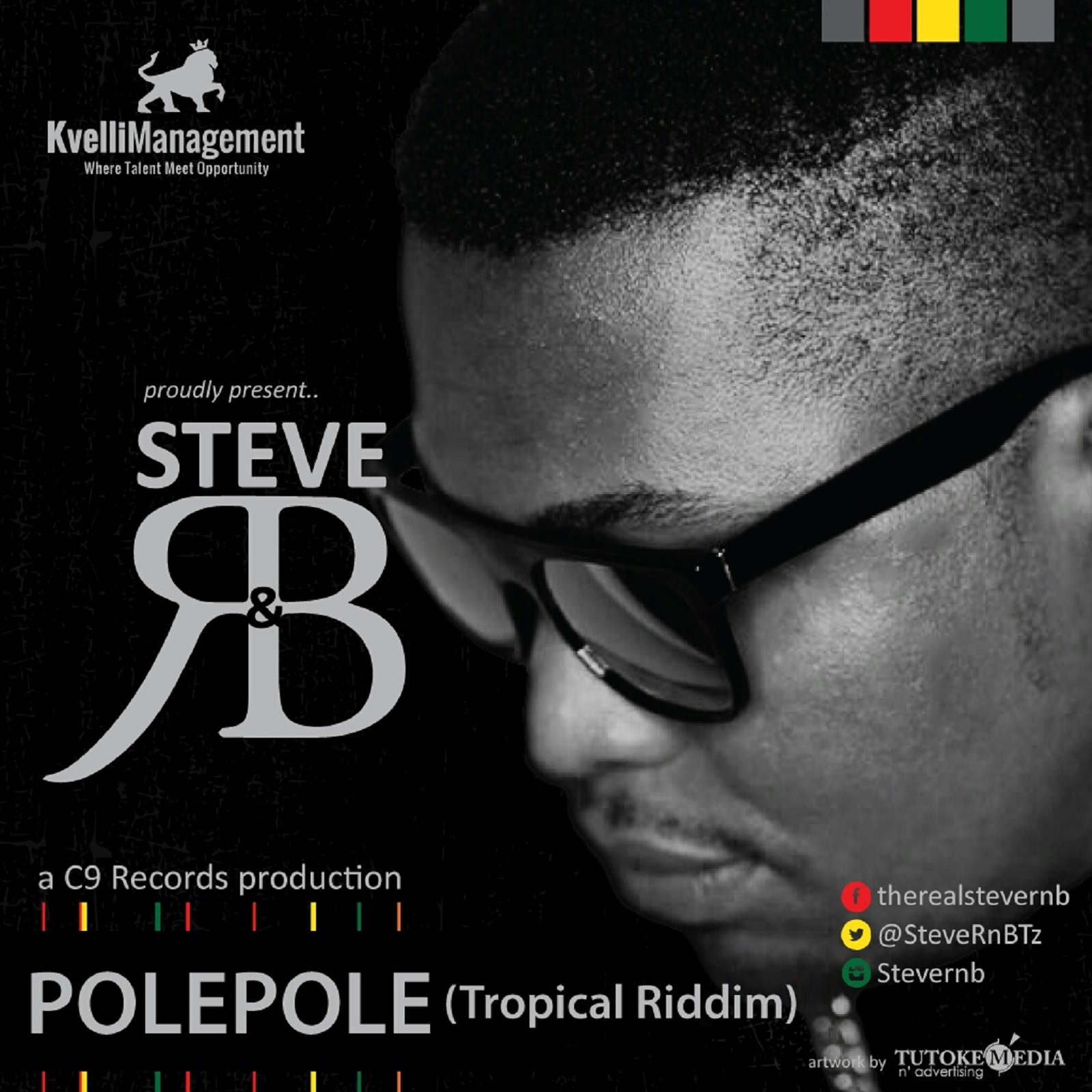 Steve RnB - Pole Pole Cover