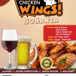 You Don't Wanna Miss: Chicken Wings Bonanza- 27th September, 2014