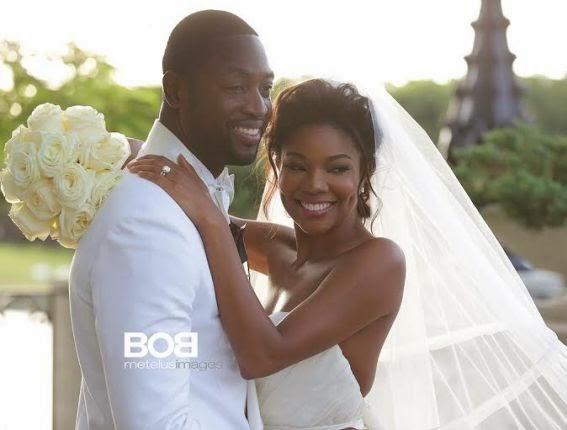 Dwayne Wade And Gabrielle Union Wedding Photo