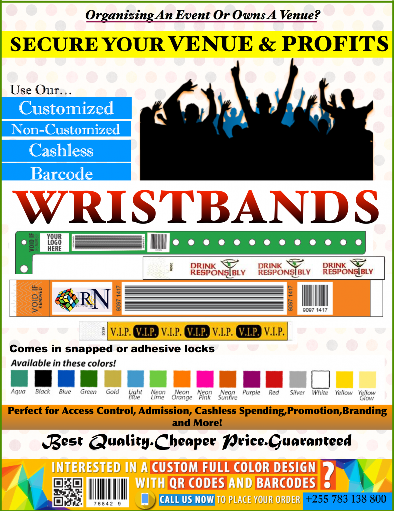 WRISTBANDS NEW AD