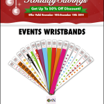 Holidays Savings:High Quality Wristbands