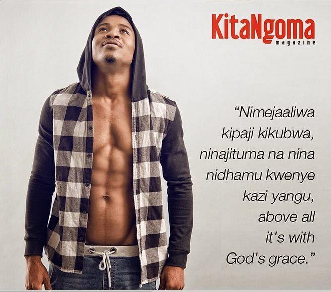 Ali Kiba on Kitangoma Magazine