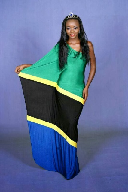 Happiness Watimanywa Miss Tanzania 2014