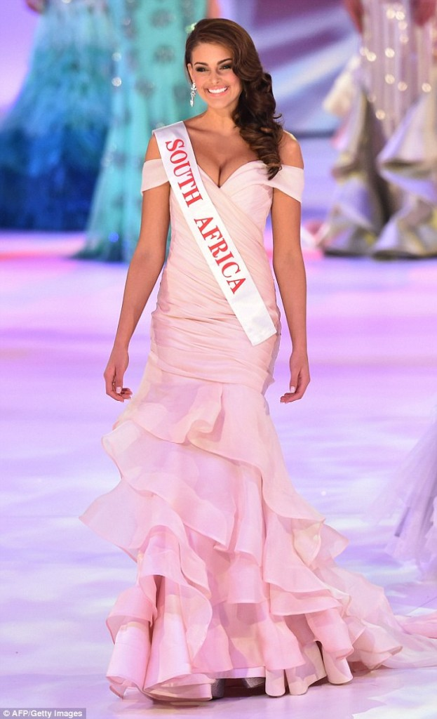 Miss World 2014 Rolene Strauss