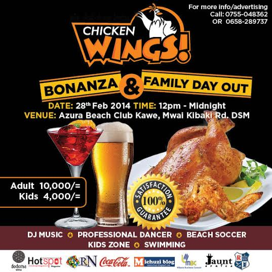 Chicken Wings Tanzania