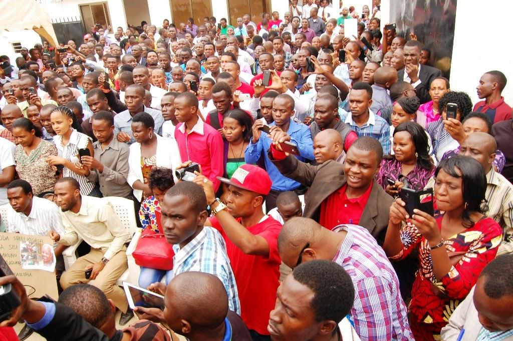 Chuo Kikuu Dodoma,Wanafunzi,