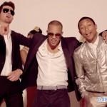 """Pharrell Williams Na Robin Thicke Walifanya """"Uhuni"""" Katika Wimbo Wa Blurred Lines. Waagizwa Kulipa Million$7.3"""