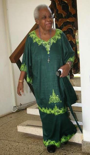 Mama Maria Nyerere,Widow Of First Tanzanian President Mwalimu Julius Kambarage Nyerere,Alive and Well