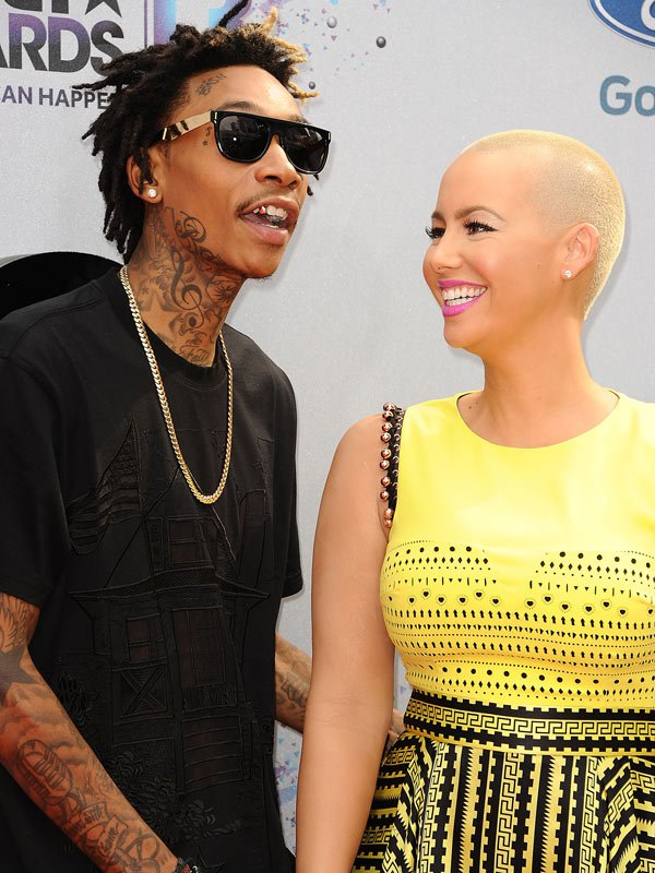 Wiz Khalifa,Amber Rose,Married,Divorce