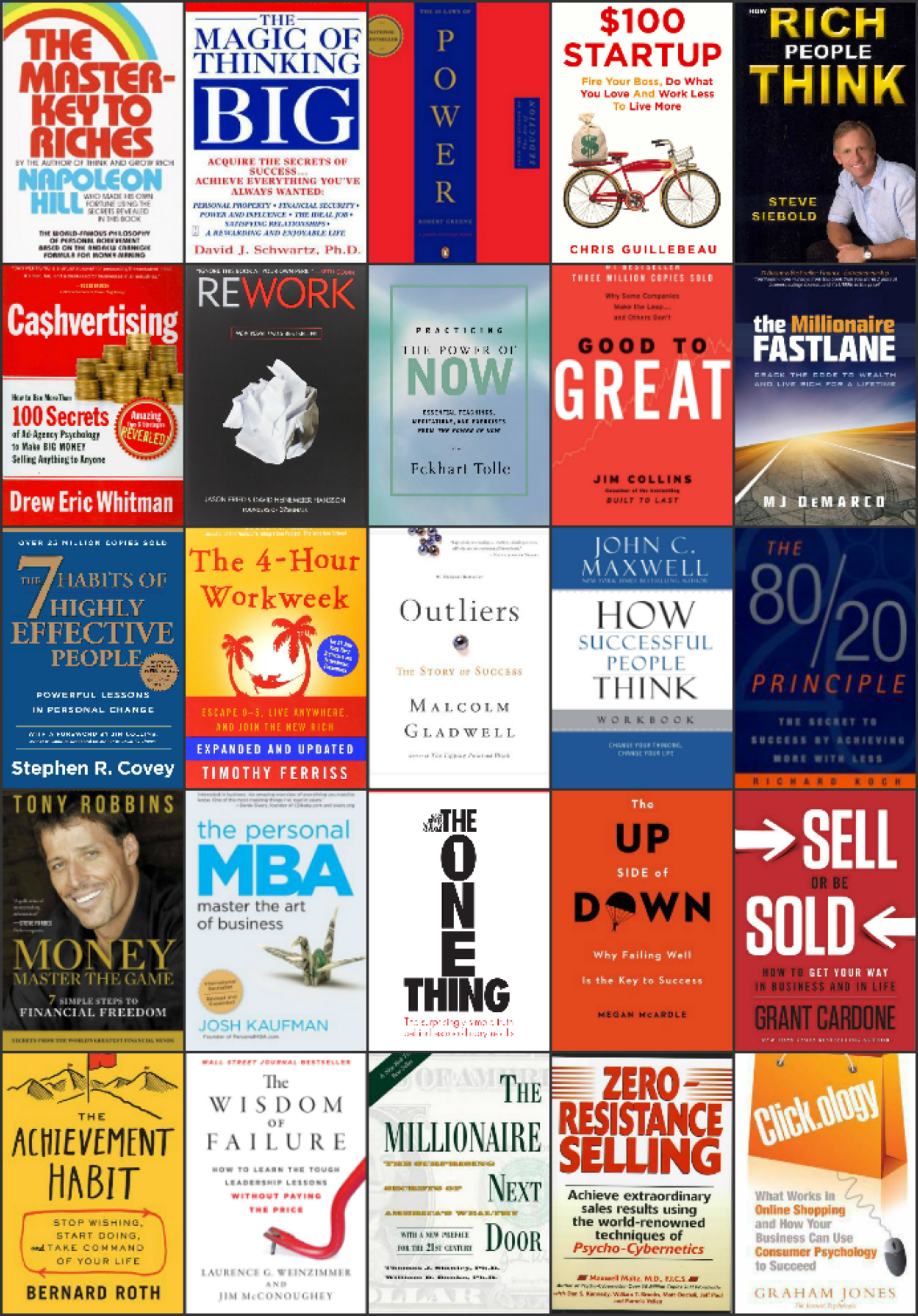 Bongo celebrity 101 must read books for entrepreneurship and 101 must read books for entrepreneurship and business ownership successaranteed malvernweather Images