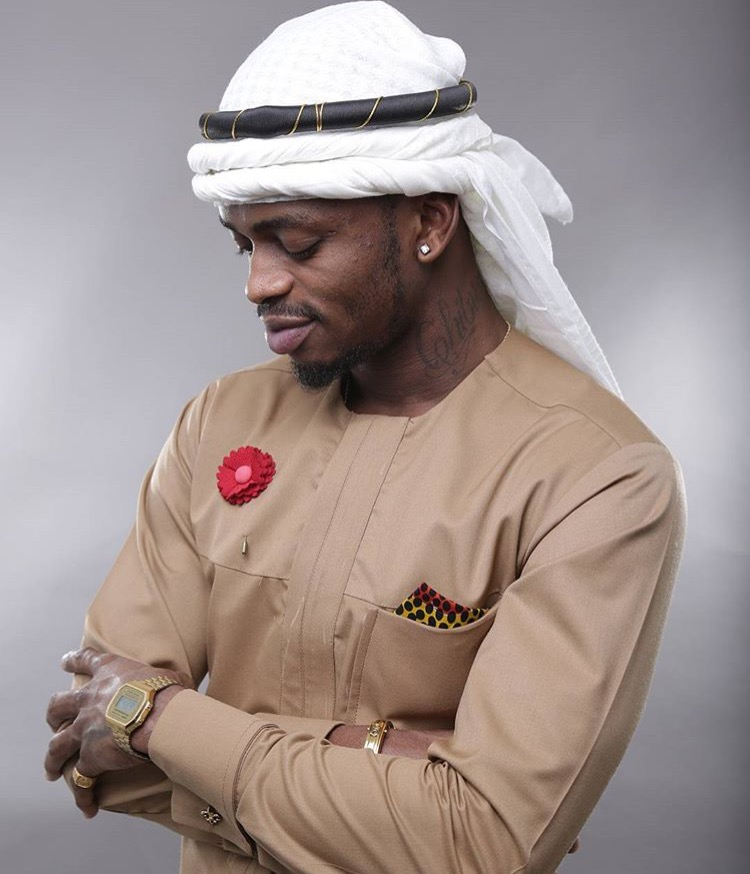 Picture of The Day:Diamond Platnumz In Color Blocking Themed Fashion