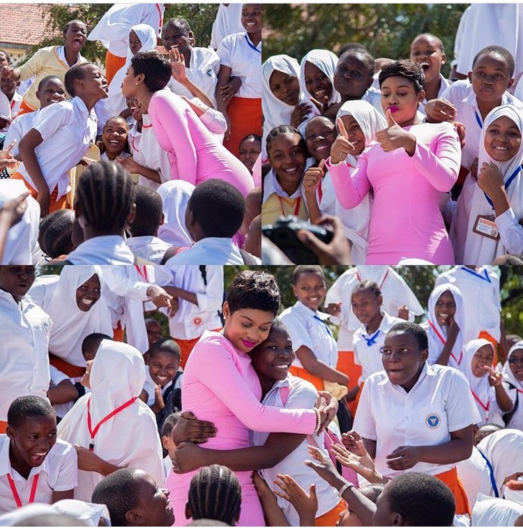 Picture Of The Day: Jokate Mwegelo With The Spirit Of Giving