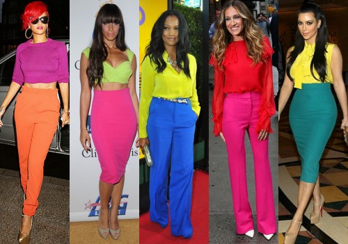 Why colour blocking is the best way to combat January ...