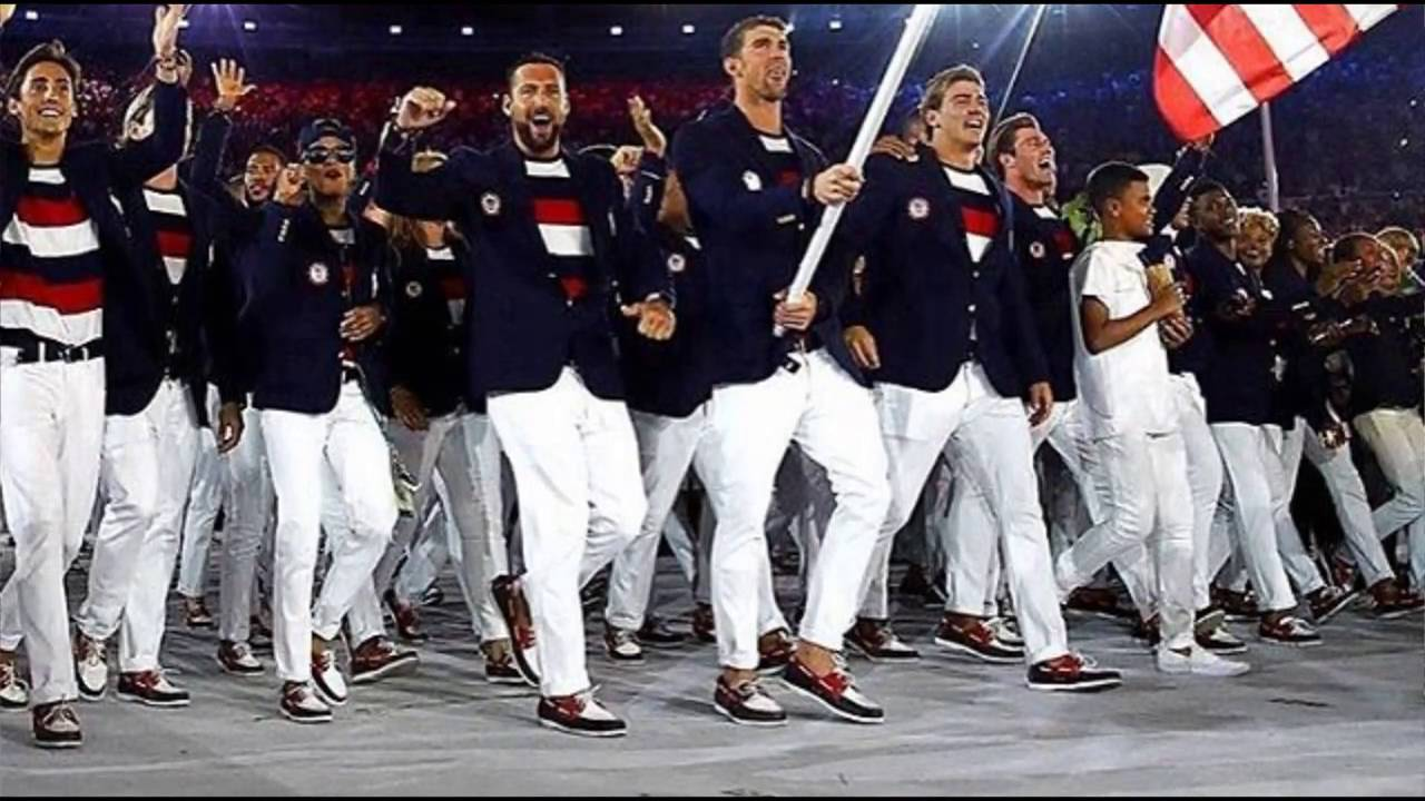 Picture Of the Day: USA Team in Rio