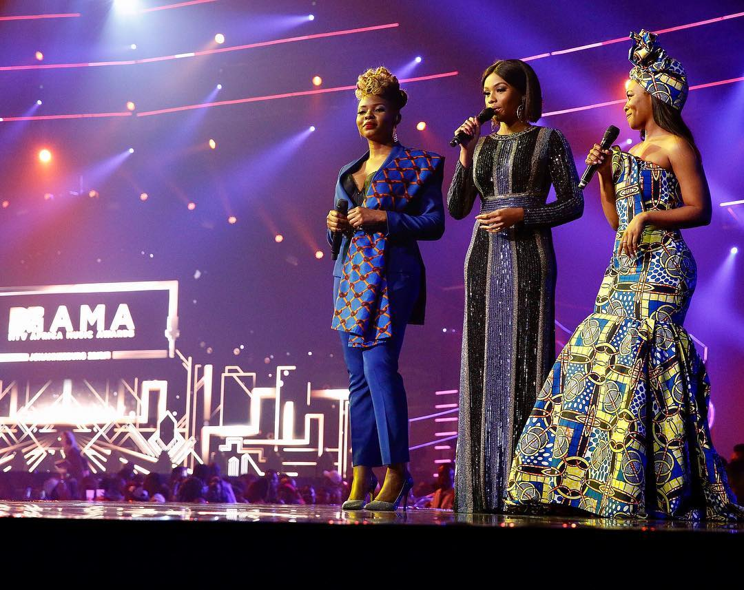 Girls Power At MTV African Music Award (MTV MAMA) 2016