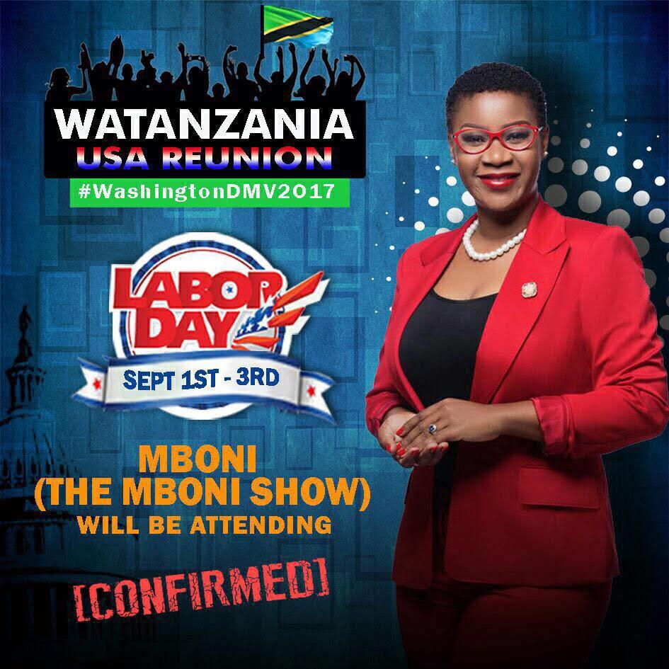 US Labor Day Weekend: Watanzania Reunion #WashingtonDMV2017