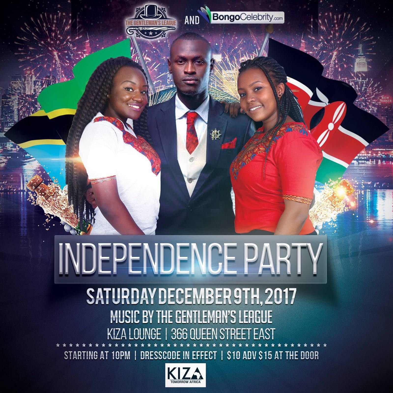 Exclusive Independence Party For Kenya And Tanzania In Toronto!